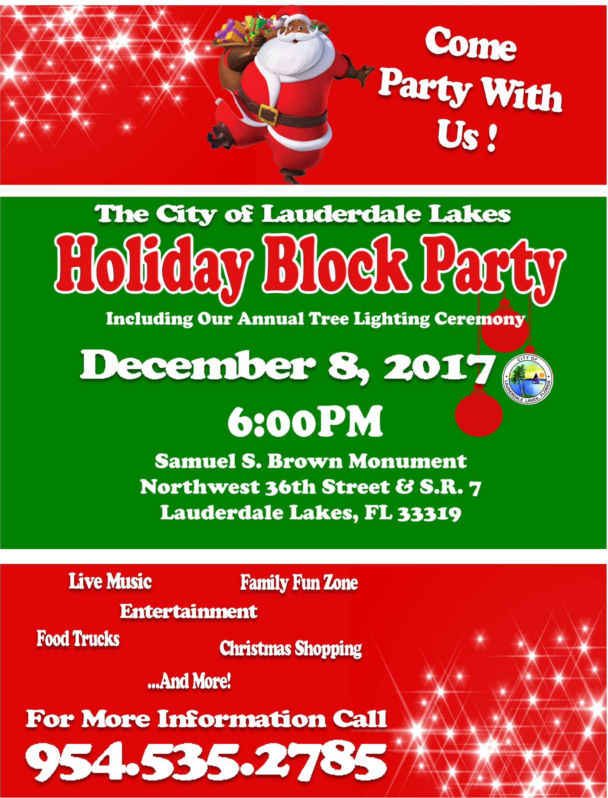 Holiday Block Party 2017