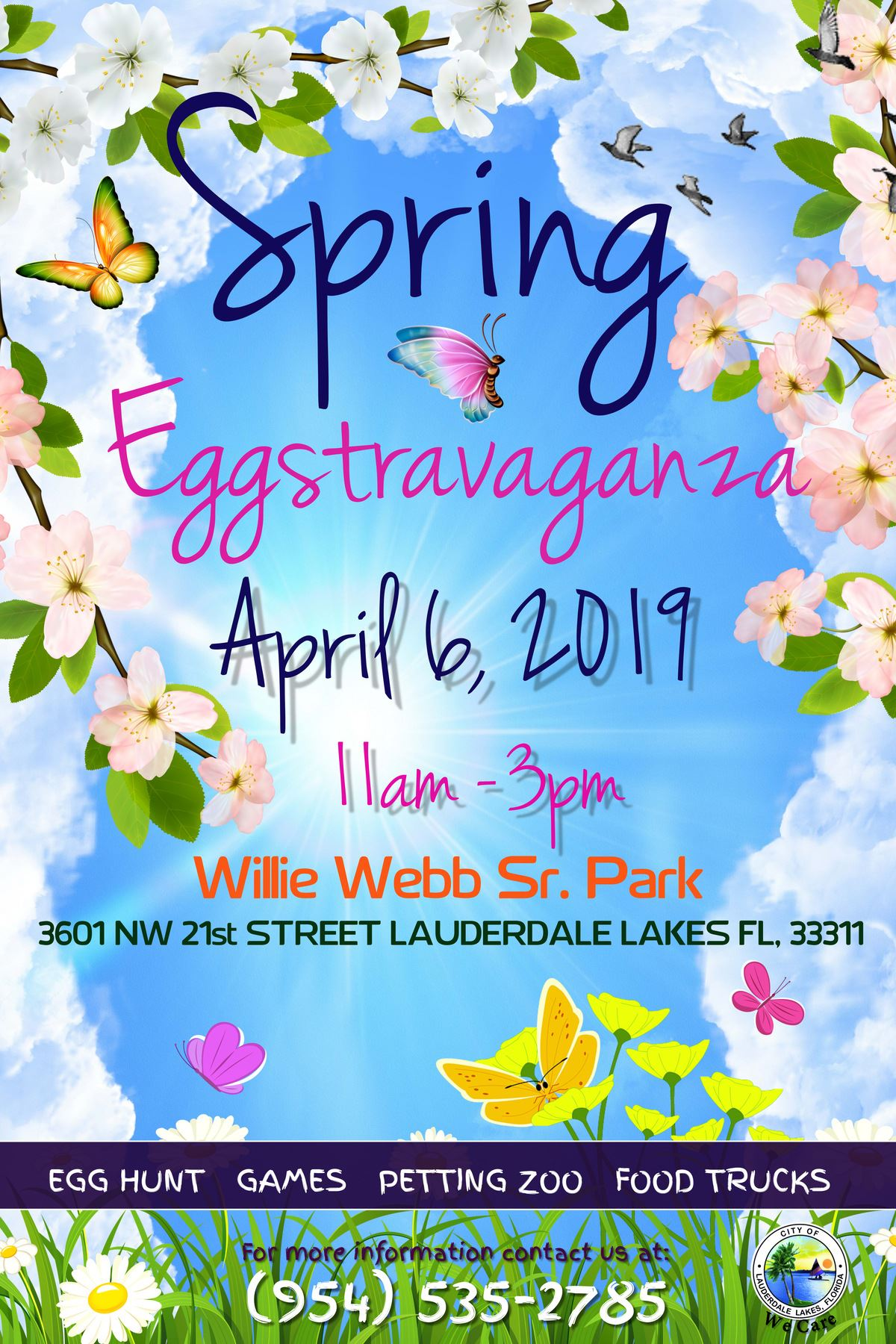 Spring Eggstaravaganza Flyer revised