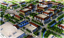 Lauderdale Lakes Town Center Concept - image courtesy of Treasure Coast Regional Planning Council