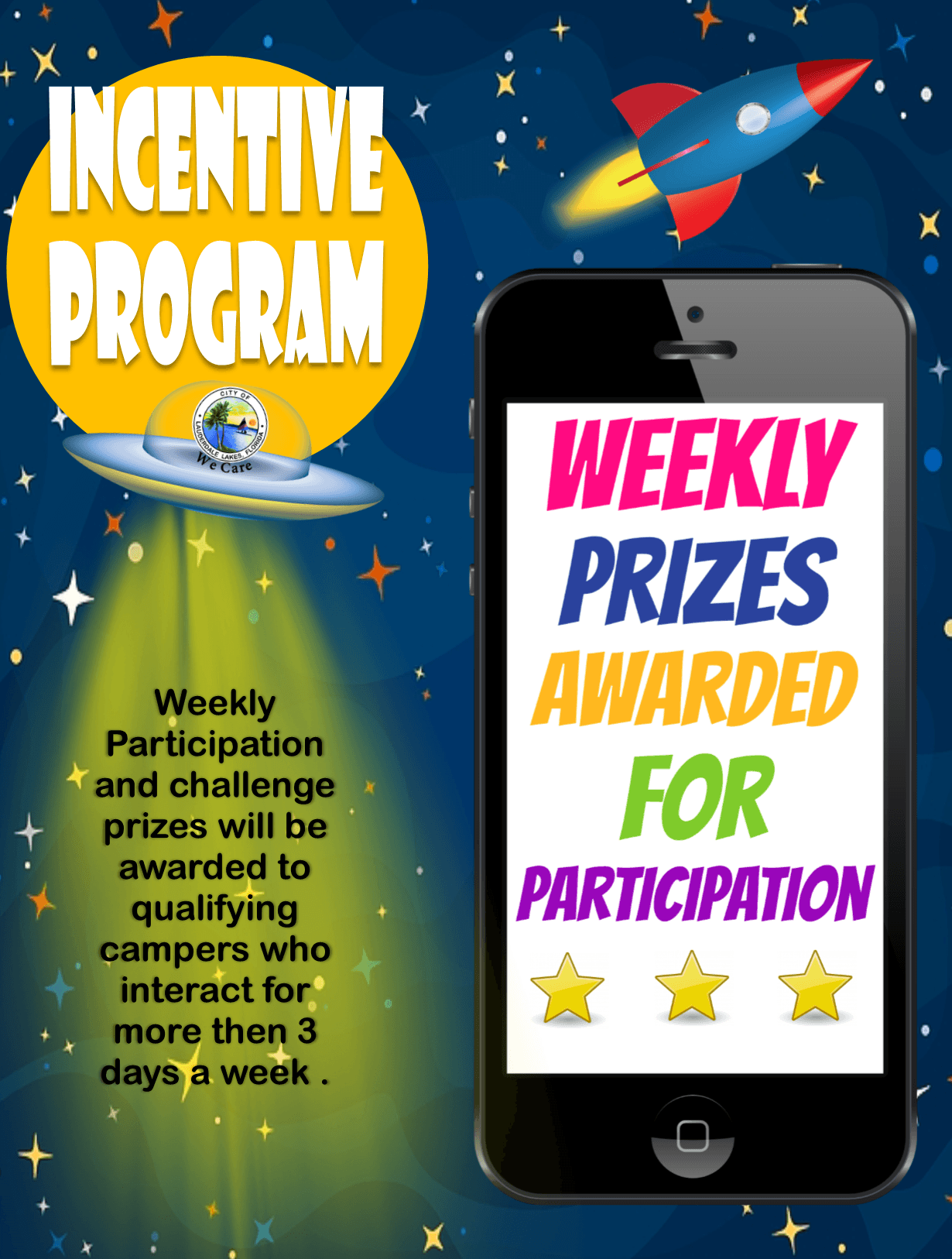Incentive Program (Activites and Prizes 2)