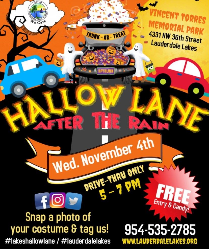 Hallow Lane Official Flyer
