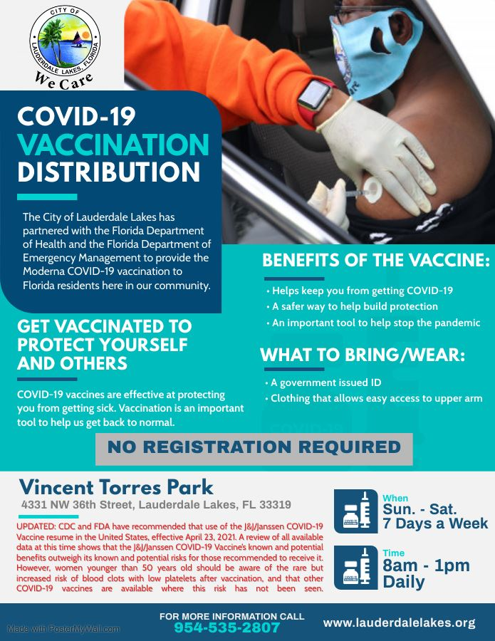 UPDATED Covid-19 Vaccination Distribution